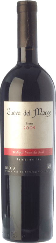 21,95 € Free Shipping | Red wine Vinícola Real Cueva del Monge Crianza D.O.Ca. Rioja The Rioja Spain Tempranillo Bottle 75 cl