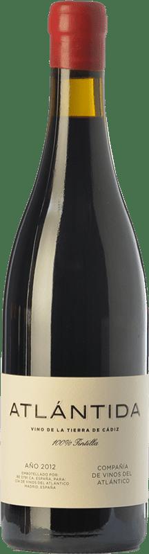 34,95 € | Red wine Vinos del Atlántico Atlántida Crianza I.G.P. Vino de la Tierra de Cádiz Andalusia Spain Tintilla Bottle 75 cl