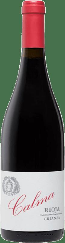 16,95 € Envoi gratuit | Vin rouge Vinos del Atlántico Calma Crianza D.O.Ca. Rioja La Rioja Espagne Tempranillo Bouteille 75 cl