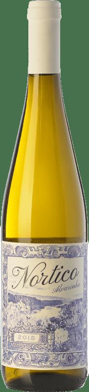 9,95 € Envoi gratuit | Vin blanc Vinos del Atlántico Nortico I.G. Minho Minho Portugal Albariño Bouteille 75 cl