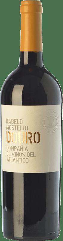 15,95 € | Red wine Vinos del Atlántico Rabelo Mosteiro Crianza I.G. Douro Douro Portugal Touriga Franca, Touriga Nacional, Tinta Roriz, Tinta Cão Bottle 75 cl