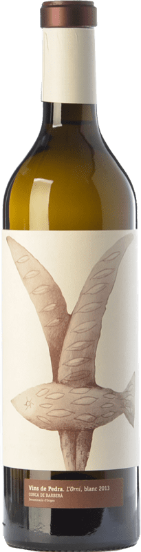 15,95 € Free Shipping | White wine Vins de Pedra L'Orni D.O. Conca de Barberà Catalonia Spain Chardonnay Bottle 75 cl
