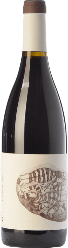 7,95 € Free Shipping | Red wine Vins de Pedra Negre de Folls Joven D.O. Conca de Barberà Catalonia Spain Tempranillo, Grenache, Trepat Bottle 75 cl