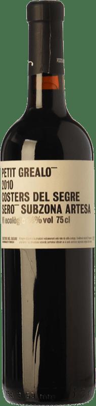 9,95 € Free Shipping | Red wine Vinya L'Hereu Petit Grealó Joven D.O. Costers del Segre Catalonia Spain Merlot, Syrah, Cabernet Sauvignon Bottle 75 cl
