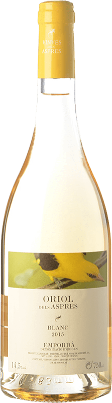 7,95 € | White wine Aspres Oriol Blanc D.O. Empordà Catalonia Spain Grenache Grey Bottle 75 cl