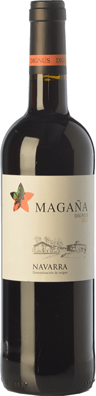 9,95 € | Red wine Viña Magaña Dignus Joven D.O. Navarra Navarre Spain Tempranillo, Merlot, Cabernet Sauvignon Bottle 75 cl