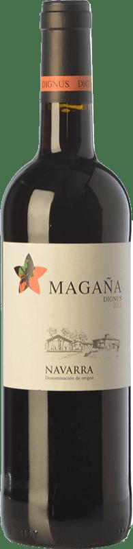 9,95 € Envoi gratuit | Vin rouge Viña Magaña Dignus Joven D.O. Navarra Navarre Espagne Tempranillo, Merlot, Cabernet Sauvignon Bouteille 75 cl