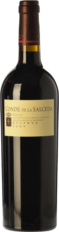 27,95 € 免费送货 | 红酒 Viña Salceda Conde de la Salceda Reserva D.O.Ca. Rioja 拉里奥哈 西班牙 Tempranillo, Graciano 瓶子 75 cl