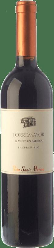 9,95 € 免费送货 | 红酒 Santa Marina Torremayor Crianza I.G.P. Vino de la Tierra de Extremadura 埃斯特雷马杜拉 西班牙 Tempranillo 瓶子 75 cl