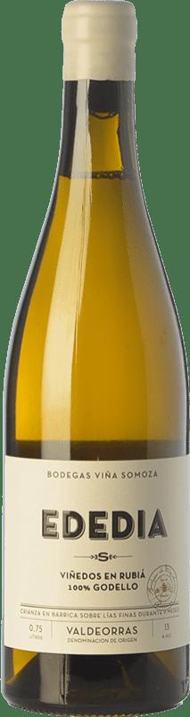 33,95 € | White wine Viña Somoza Ededia Crianza D.O. Valdeorras Galicia Spain Godello Bottle 75 cl