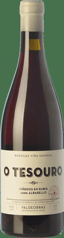 33,95 € | Red wine Viña Somoza Tesouro Joven D.O. Valdeorras Galicia Spain Brancellao Bottle 75 cl