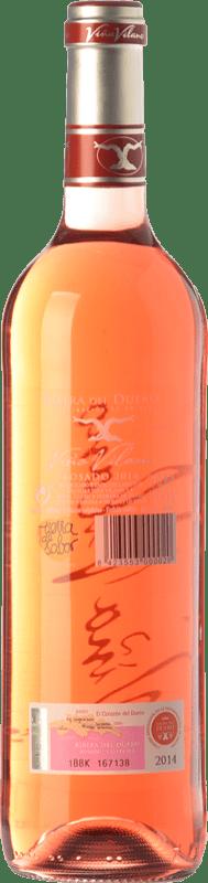 8,95 € Free Shipping | Rosé wine Viña Vilano D.O. Ribera del Duero Castilla y León Spain Tempranillo Bottle 75 cl