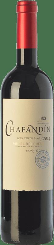 22,95 € Envío gratis | Vino tinto Viñas del Jaro Chafandín Crianza D.O. Ribera del Duero Castilla y León España Tempranillo Botella 75 cl