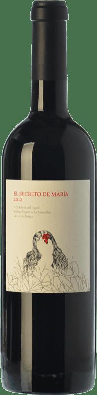 22,95 € Free Shipping | Red wine Virgen de la Asunción El Secreto de María Crianza D.O. Ribera del Duero Castilla y León Spain Tempranillo Bottle 75 cl