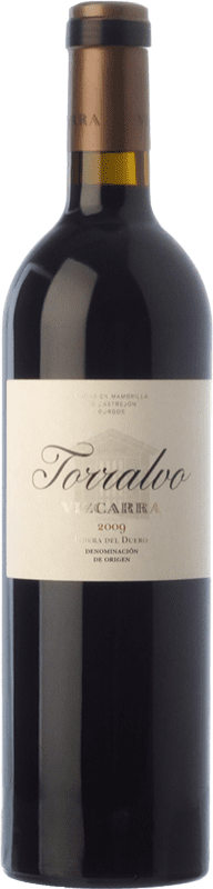 97,95 € Envío gratis | Vino tinto Vizcarra Torralvo Crianza D.O. Ribera del Duero Castilla y León España Tempranillo Botella Mágnum 1,5 L