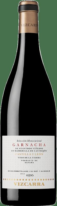 27,95 € Free Shipping | Red wine Vizcarra Crianza I.G.P. Vino de la Tierra de Castilla y León Castilla y León Spain Grenache Bottle 75 cl