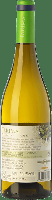 6,95 € Free Shipping   White wine Volver Tarima Joven D.O. Alicante Valencian Community Spain Muscat of Alexandria, Macabeo, Merseguera Bottle 75 cl