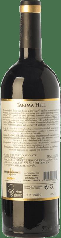 12,95 € Free Shipping   Red wine Volver Tarima Hill Crianza D.O. Alicante Valencian Community Spain Monastrell Bottle 75 cl