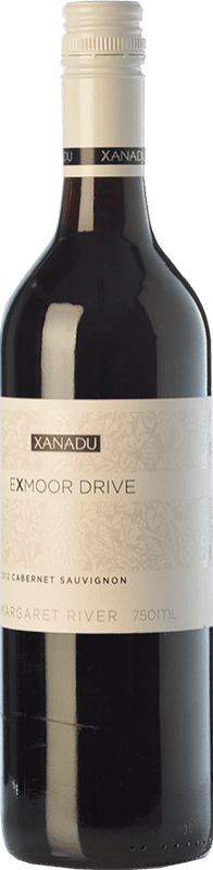 12,95 € Free Shipping | Red wine Xanadu Exmoor Drive Cabernet Sauvignon Crianza I.G. Margaret River Margaret River Australia Merlot, Cabernet Sauvignon, Cabernet Franc, Petit Verdot Bottle 75 cl