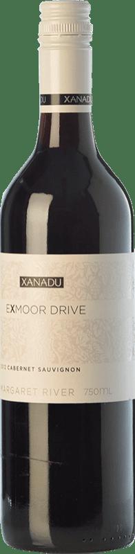 12,95 € 免费送货   红酒 Xanadu Exmoor Drive Cabernet Sauvignon Crianza I.G. Margaret River 玛格丽特河 澳大利亚 Merlot, Cabernet Sauvignon, Cabernet Franc, Petit Verdot 瓶子 75 cl