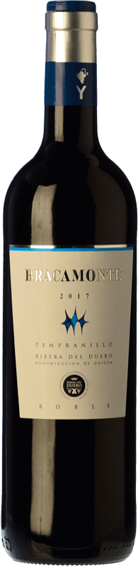 9,95 € Free Shipping | Red wine Yllera Bracamonte Roble D.O. Ribera del Duero Castilla y León Spain Tempranillo Bottle 75 cl
