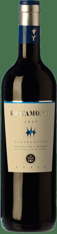 9,95 € Envío gratis | Vino tinto Yllera Bracamonte Roble D.O. Ribera del Duero Castilla y León España Tempranillo Botella 75 cl