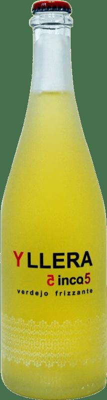 8,95 € 免费送货 | 甜酒 Yllera Cinco.5 西班牙 Verdejo 瓶子 75 cl