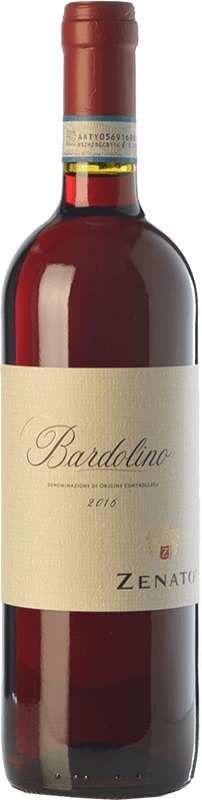 8,95 € Free Shipping | Red wine Zenato D.O.C. Bardolino Veneto Italy Merlot, Corvina, Rondinella Bottle 75 cl