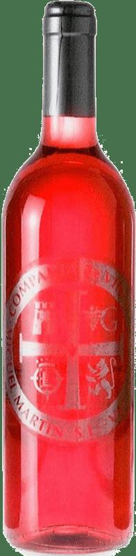 4,95 € Envio grátis | Vinho rosé Thesaurus Cosechero Joven Espanha Tempranillo Garrafa 75 cl