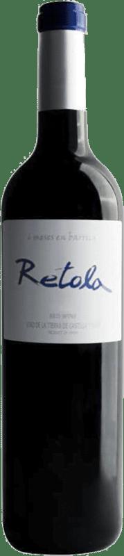 红酒 Thesaurus Retola 6 Meses Crianza I.G.P. Vino de la Tierra de Castilla y León 卡斯蒂利亚莱昂 西班牙 Tempranillo 瓶子 75 cl