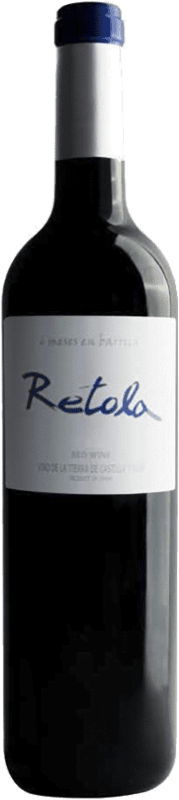 5,95 € | Vin rouge Thesaurus Retola Roble 6 Meses Crianza I.G.P. Vino de la Tierra de Castilla y León Castille et Leon Espagne Tempranillo Bouteille 75 cl