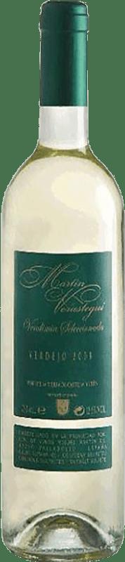 Бесплатная доставка | Белое вино Thesaurus Martín Verástegui Vendimia Seleccionada Joven I.G.P. Vino de la Tierra de Castilla y León Кастилия-Леон Испания Verdejo бутылка 75 cl