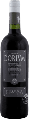 6,95 € | Red wine Thesaurus Flumen Dorium Roble D.O. Ribera del Duero Castilla y León Spain Tempranillo Half Bottle 50 cl