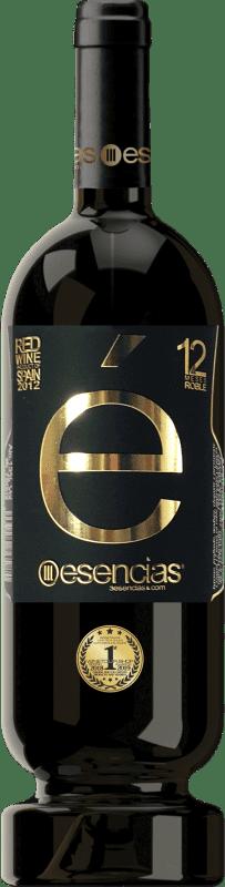 21,95 € Spedizione Gratuita | Vino rosso Esencias «é» Premium Edition 12 Meses Crianza 2012 I.G.P. Vino de la Tierra de Castilla y León Castilla y León Spagna Tempranillo Bottiglia 75 cl