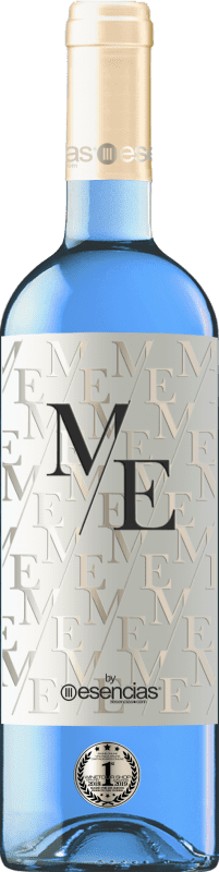 Free Shipping | White wine Esencias ME&Blue Spain Chardonnay Bottle 75 cl