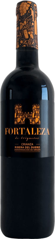 9,95 € Free Shipping | Red wine Thesaurus Fortaleza de Trigueros Crianza D.O. Ribera del Duero Castilla y León Spain Tempranillo Bottle 75 cl