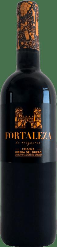 9,95 € 免费送货 | 红酒 Thesaurus Fortaleza de Trigueros Crianza D.O. Ribera del Duero 卡斯蒂利亚莱昂 西班牙 Tempranillo 瓶子 75 cl