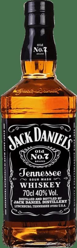22,95 € Free Shipping | Bourbon Jack Daniel's Bottle 70 cl