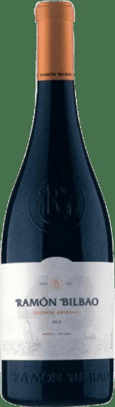 18,95 € Free Shipping   Red wine Ramón Bilbao Reserva Original 43 Reserva D.O.Ca. Rioja The Rioja Spain Tempranillo Bottle 75 cl
