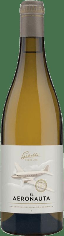 12,95 € Free Shipping | White wine Palacio El Aeronauta D.O. Valdeorras Galicia Spain Godello Bottle 75 cl