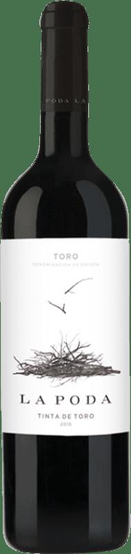6,95 € Free Shipping | Red wine Palacio La Poda D.O. Toro Castilla y León Spain Tinta de Toro Bottle 70 cl