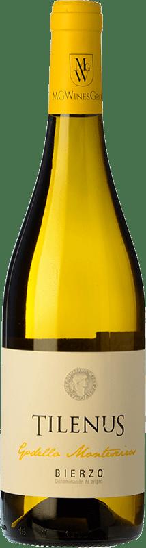 7,95 € Free Shipping | White wine Estefanía Tilenus Monteseiros D.O. Bierzo Castilla y León Spain Godello Bottle 75 cl