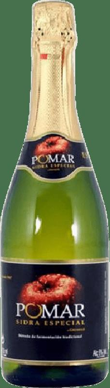 4,95 € Free Shipping | Cider Pomar Espumosa Principality of Asturias Spain Bottle 75 cl