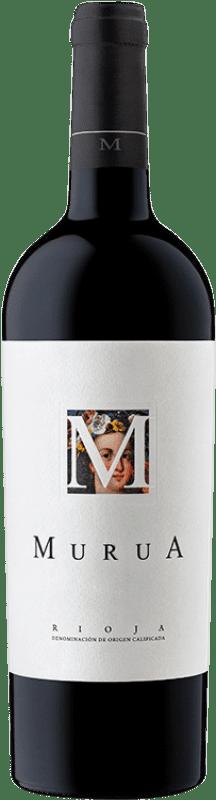 26,95 € Free Shipping | Red wine Murua M de Murua D.O.Ca. Rioja The Rioja Spain Tempranillo, Graciano, Mazuelo Bottle 75 cl