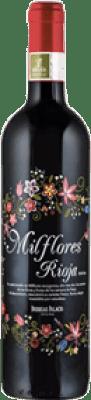 2,95 € Free Shipping | Red wine Palacio Mil Flores Tinto D.O.Ca. Rioja The Rioja Spain Tempranillo Small Bottle 18 cl