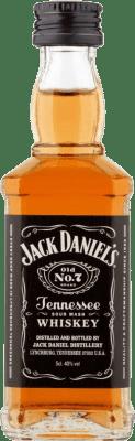 1,95 € Free Shipping | Bourbon Jack Daniel's Miniature Small Bottle 5 cl