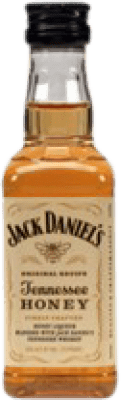 2,95 € Free Shipping | Bourbon Jack Daniel's Honey Miniature Small Bottle 5 cl