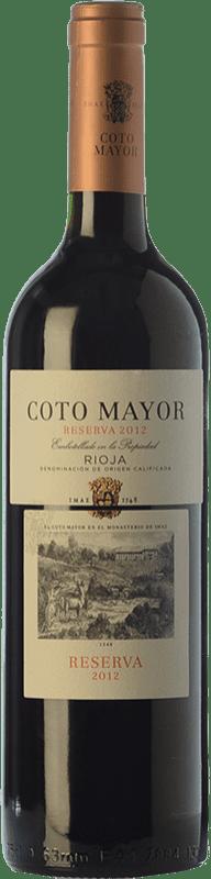 10,95 € Free Shipping | Red wine Coto de Rioja Coto Mayor Reserva D.O.Ca. Rioja The Rioja Spain Tempranillo, Graciano Bottle 75 cl