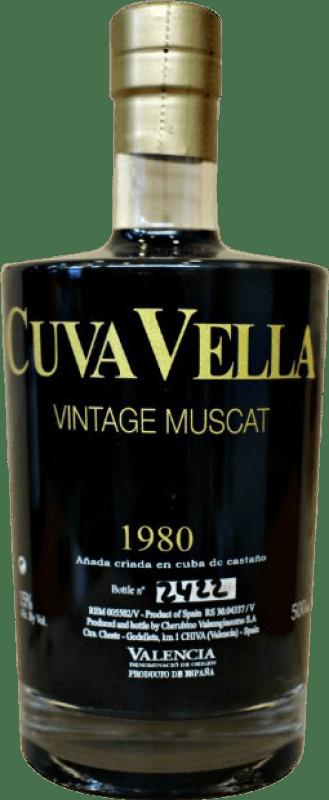 36,95 € Free Shipping | Sweet wine Valsangiacomo Valsan 1831 Cuva Bella D.O. Valencia Valencian Community Spain Muscat Bottle 75 cl