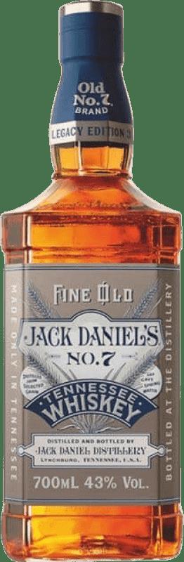 26,95 € Free Shipping | Bourbon Jack Daniel's Legacy Edition Nº 3 Bottle 70 cl